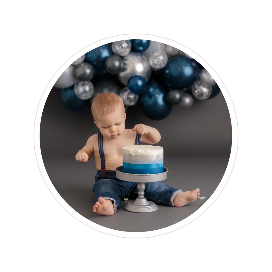 Utah Cake Smash Photographer   Park City Child Photographer   Salt Lake City Cake Smash Photography