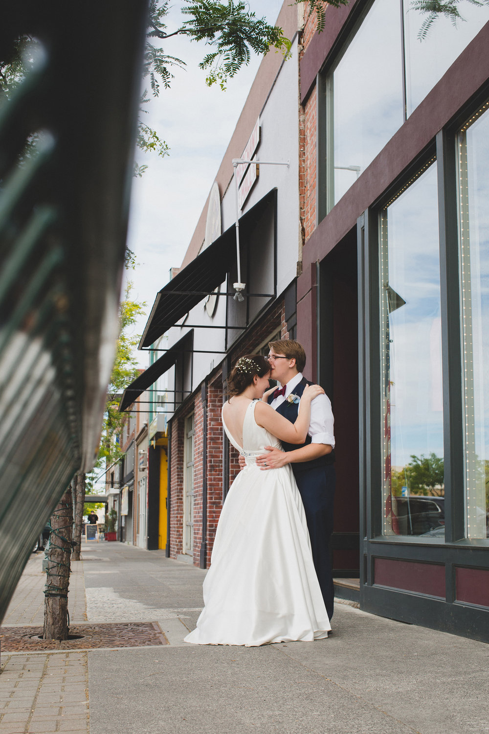 Tri Cities Wedding Photographer_Karis and Adrienne_Church wedding_Downtown Kennewick 2