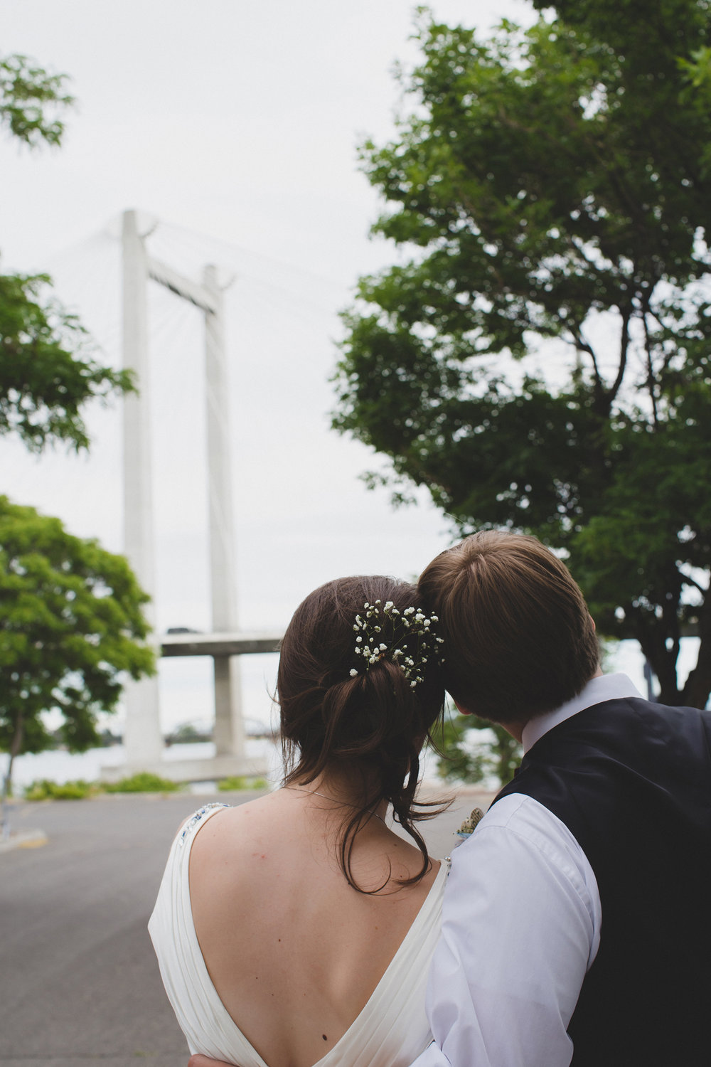 Tri Cities Wedding Photographer_Karis and Adrienne_Church wedding_ Downtown Kennewick 17_Clover Island_Cable Bridge