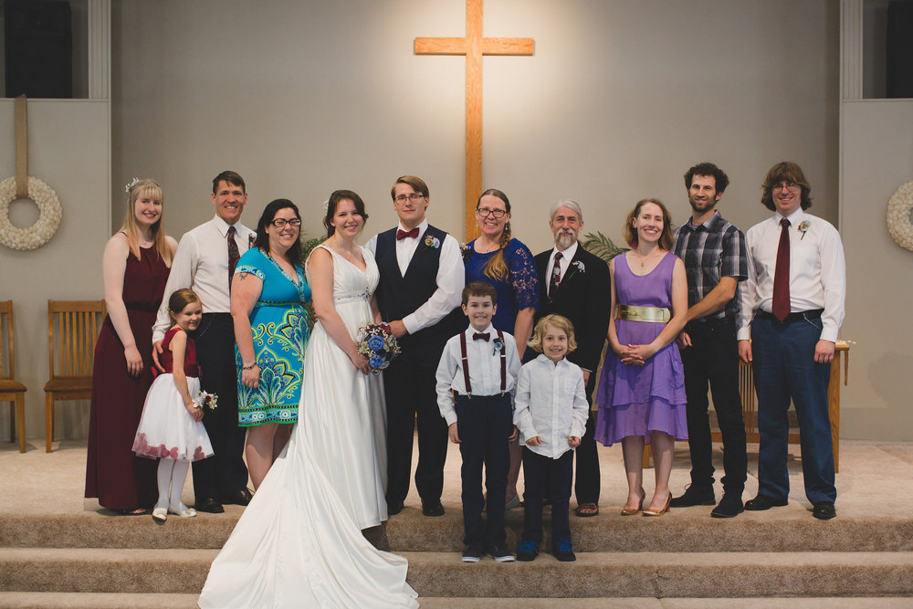 Tri Cities Wedding Photographer_Karis and Adrienne_Church wedding_Family 2