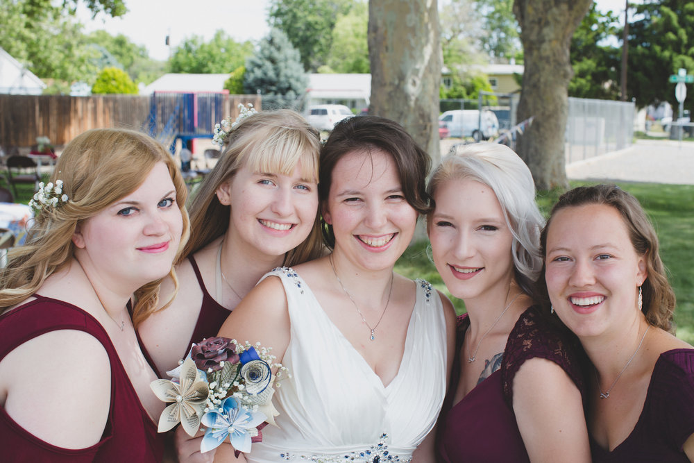 Tri Cities Wedding Photographer_Karis and Adrienne_Church wedding_Bridal Party 4