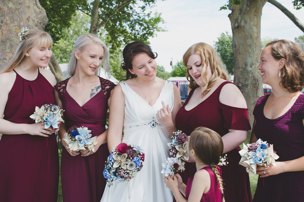 Tri Cities Wedding Photographer_Karis and Adrienne_Church wedding_Bridal Party 6