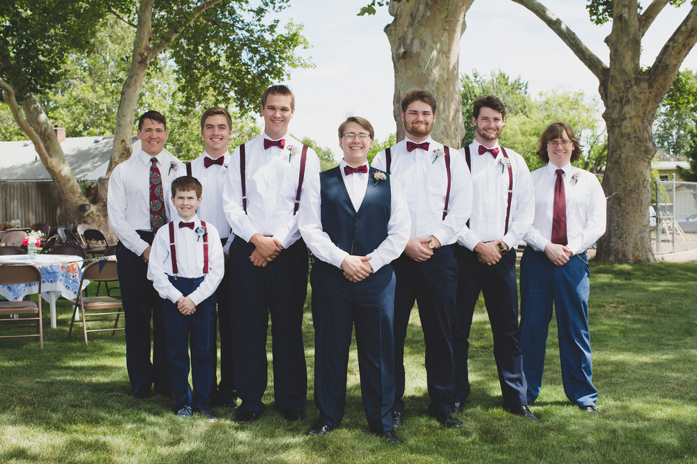 Tri Cities Wedding Photographer_Karis and Adrienne_Church wedding_Bridal Party 8