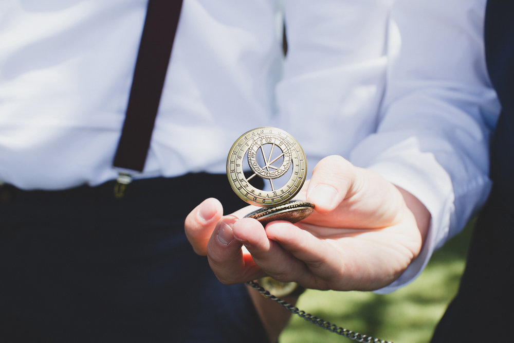 Tri Cities Wedding Photographer_Karis and Adrienne_Church wedding_Bridal Party 11 Pocket watch