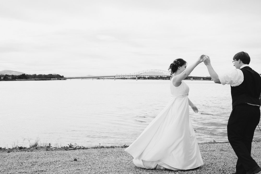 Tri Cities Wedding Photographer_Karis and Adrienne_Church wedding_Clover Island Trail_1