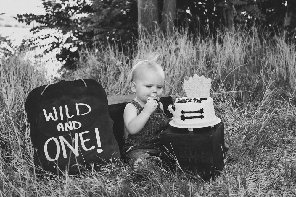 Kennewick family photos_Kennewick children photos_one year old photos_cake smash_baby photos_outdoor photo session_where the wild things are_Jordan Edens Photography_JEP_1