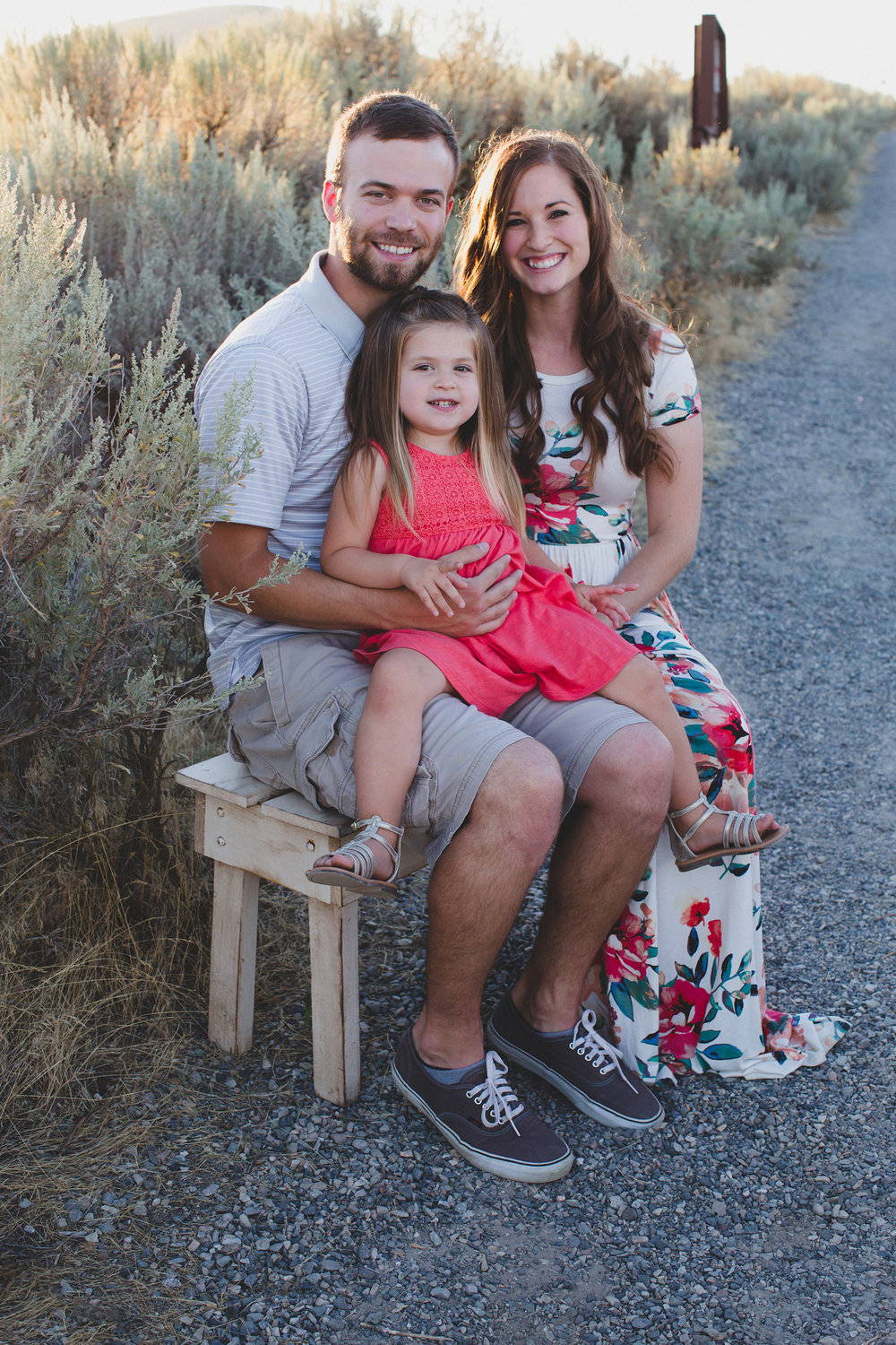 Tri Cities family session_Campbell family_sunset session_desert session_Lifestyle family session_floral dress_3
