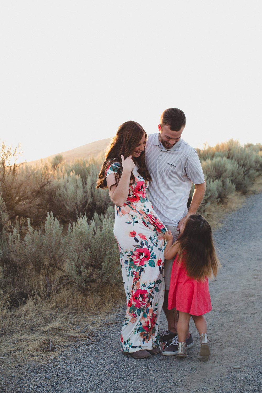 Tri Cities family session_Campbell family_sunset session_desert session_Lifestyle family session_floral dress_13