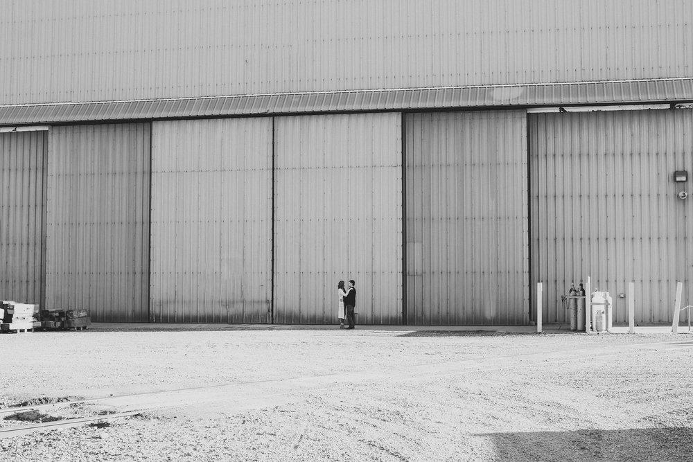 Jordan Edens Photography_Janey Valerio and KJ Gettmann_Tri Cities Washington Photographer_Engagement session_couple session_Kennewick engagement session_Industrial_10