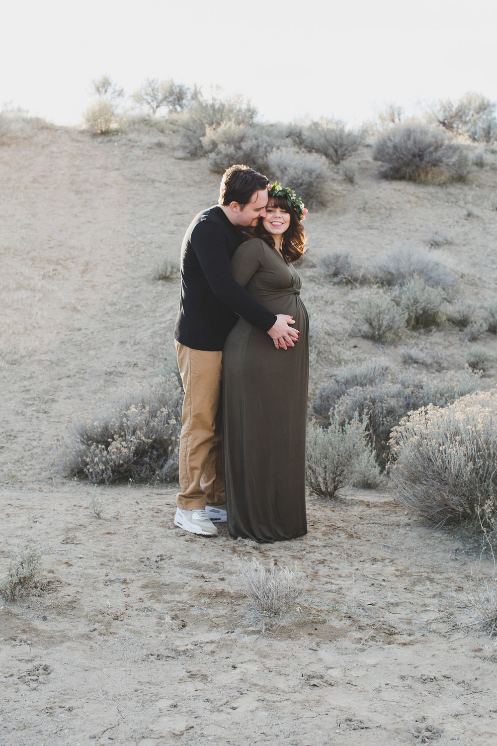 Tri Cities Maternity photographer_tri cities maternity_richland photographer_kennewick photographer_maternity session_red mountain_mama to be_parents to be_tri cities family session_red mountain trails_sage brush_horse_desert session_sunset session_4