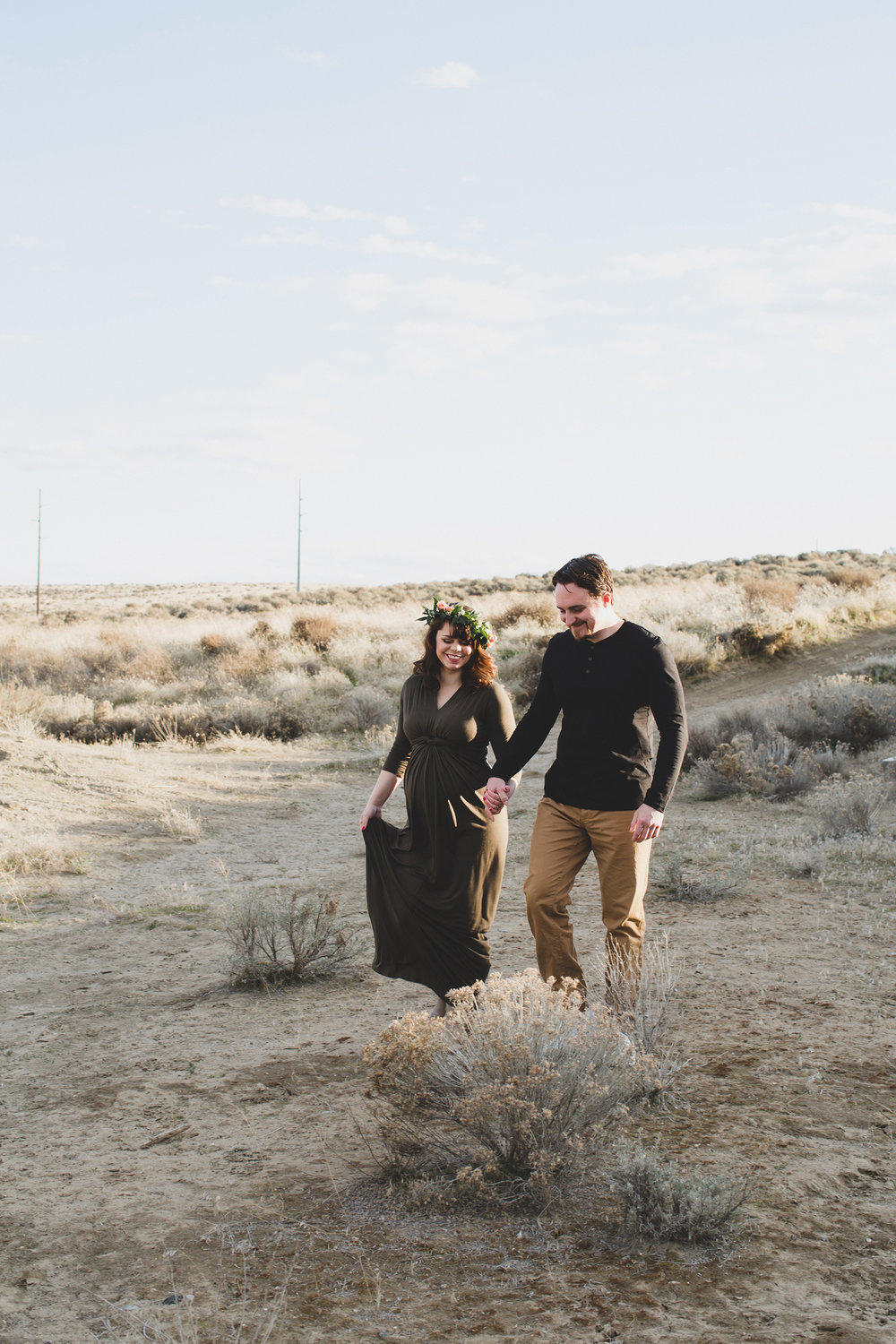 Tri Cities Maternity photographer_tri cities maternity_richland photographer_kennewick photographer_maternity session_red mountain_mama to be_parents to be_tri cities family session_red mountain trails_sage brush_horse_desert session_sunset session_5