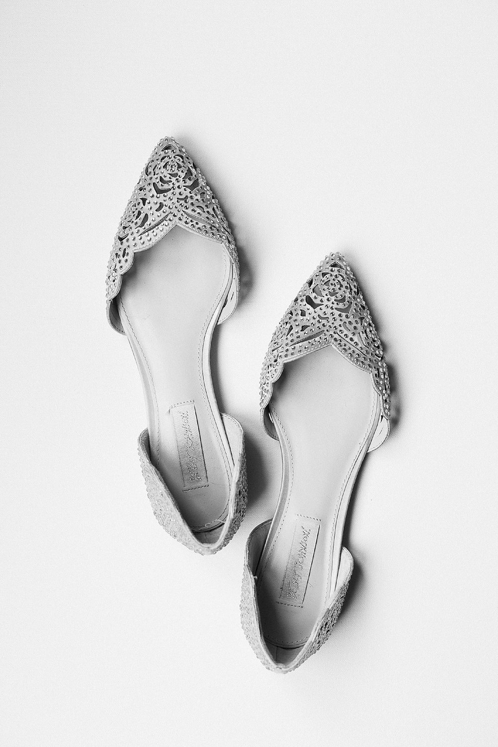 RCMP Wedding - Winnipeg Wedding Photographer - Bridal shoe details - Keila Marie Photography