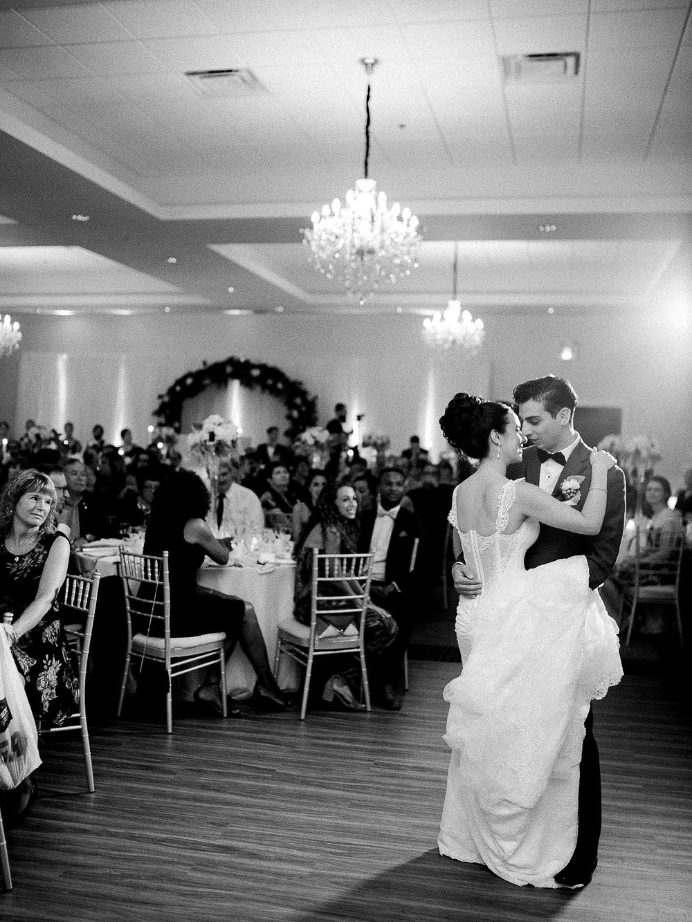 First dance as bride and groom | photographed by Toronto Ontario Wedding Photographer Keila Marie Photography