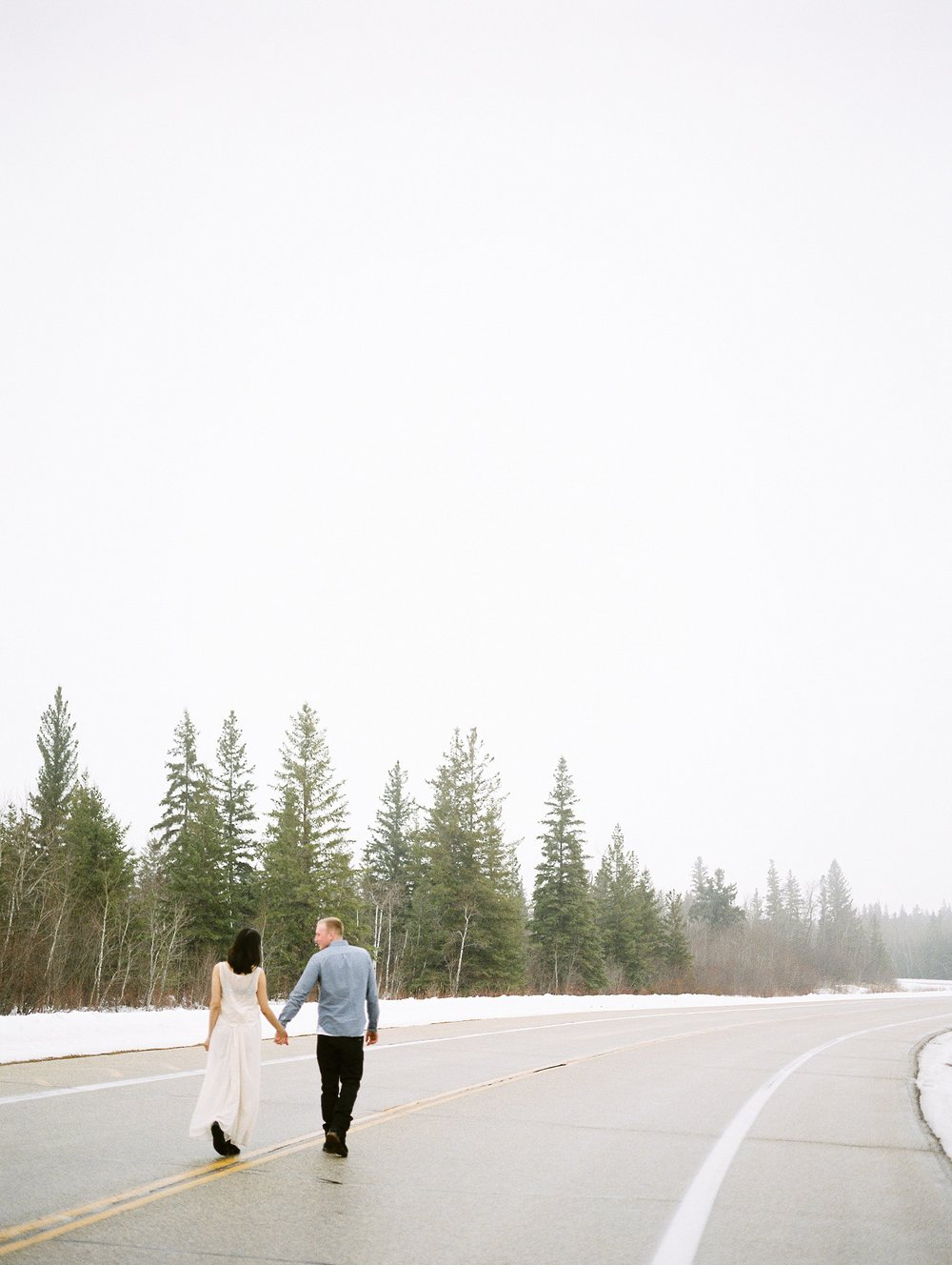 couples photoshoot in winter | photographed by fine art film photographer Keila Marie Photography