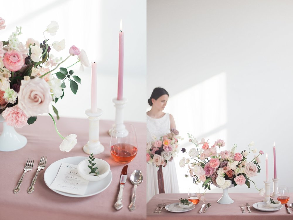 Winnipeg Wedding Photographer Keila Marie Photography | Academy Florist styled shoot | Spring Wedding Tablescape Inspiration