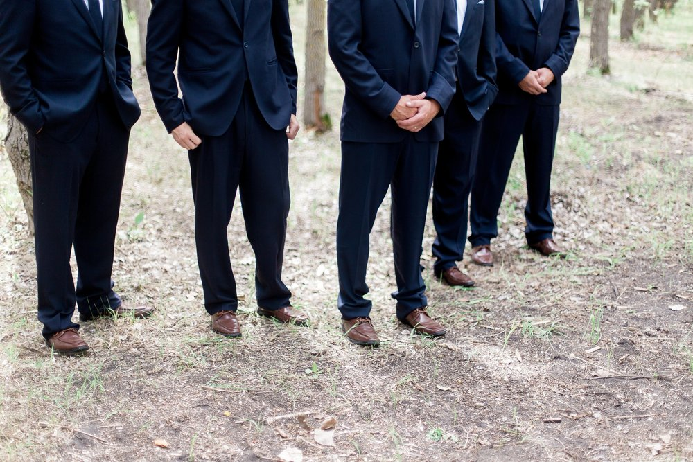 Winnipeg Wedding Photographer Keila Marie Photography | Groomsmen photos |Garden inspired wedding