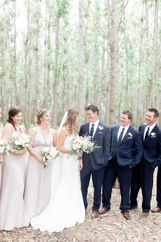 Vancouver Wedding Photographer Keila Marie Photography | Bridal party photos |Garden inspired wedding