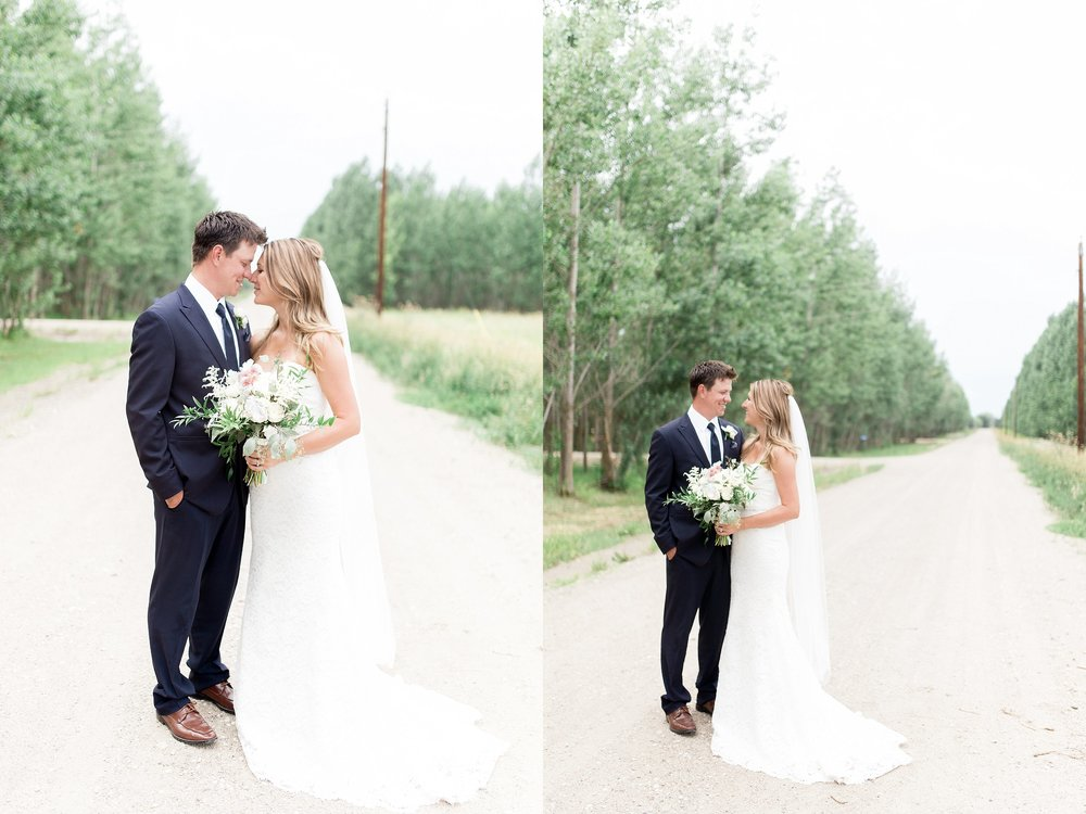 Vancouver wedding photographer | Keila Marie Photography | Bride and groom portraits | Garden inspired wedding