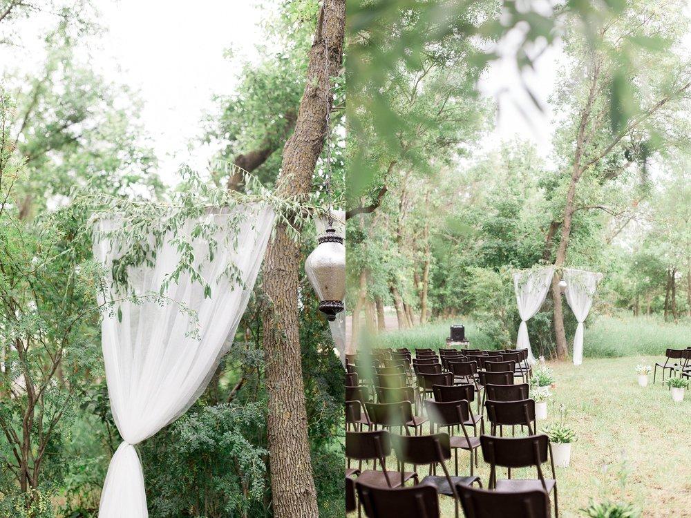 Backyard ceremony ideas | Keila Marie Photography | Winnipeg Wedding Photographer