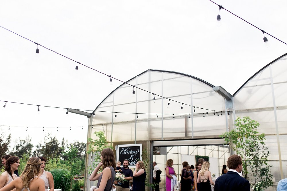 Greenhouse reception | Reception ideas | Keila Marie Photography | Winnipeg Wedding Photographer