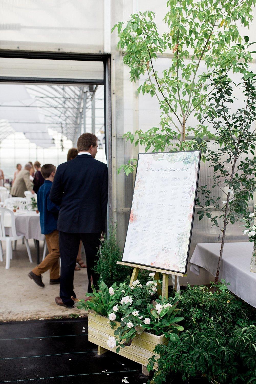 Greenhouse reception | Reception decor deas | Keila Marie Photography | Vancouver Wedding Photographer
