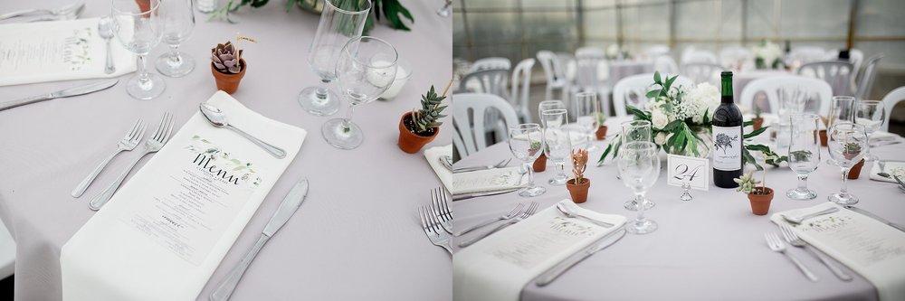 Greenhouse wedding reception | Reception ideas | Keila Marie Photography | Manitoba Wedding Photographer