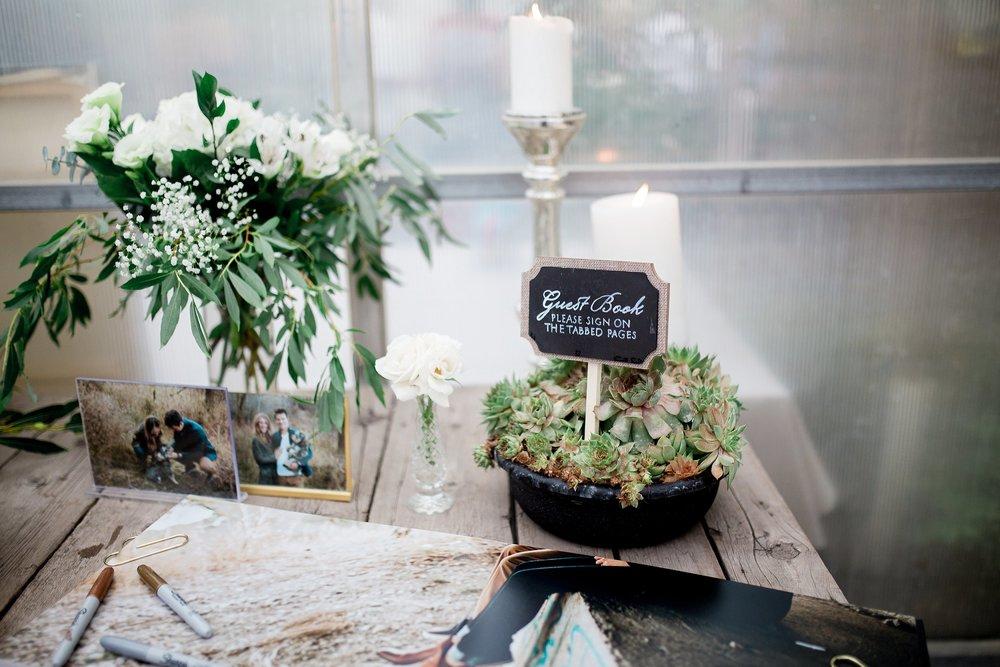 Greenhouse wedding reception | Reception decor ideas | Keila Marie Photography | Toronto Wedding Photographer