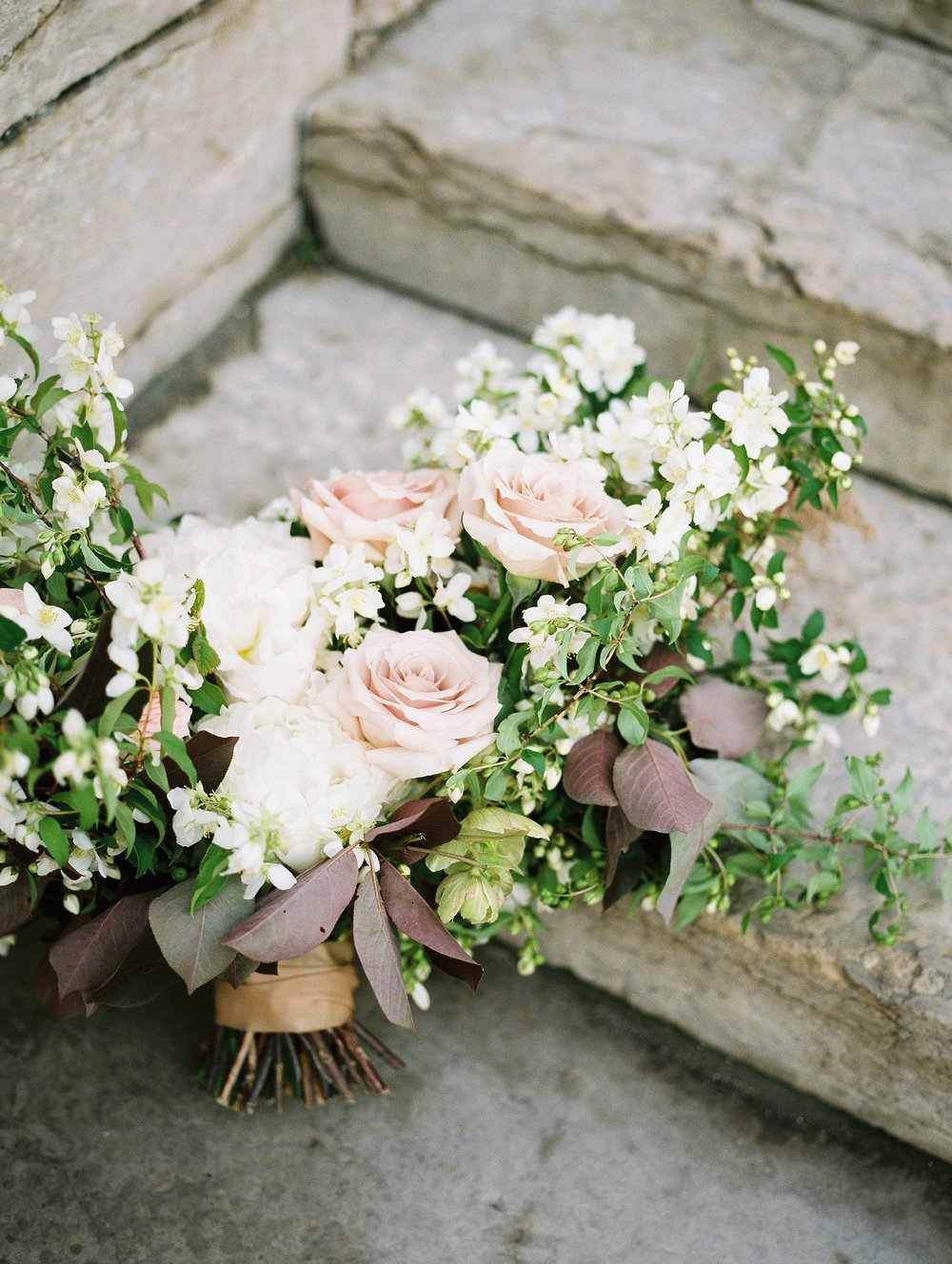 Floral bouquet by Heather Page | Winnipeg Vancouver and Toronto Wedding Photographer Keila Marie Photography