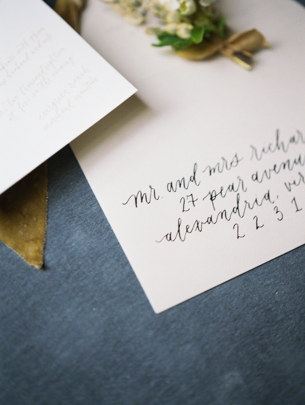 Calligraphy by Jennifer Bianca Calligraphy | wedding day detail photo | Winnipeg Vancouver and Toronto Wedding Photographer Keila Marie Photography