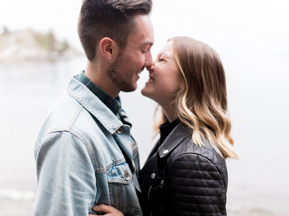 Vancouver Engagement Session, PNW Wedding Photographer, Cute Engagement Session poses, Winnipeg Wedding Photographer, Keila Marie Photography