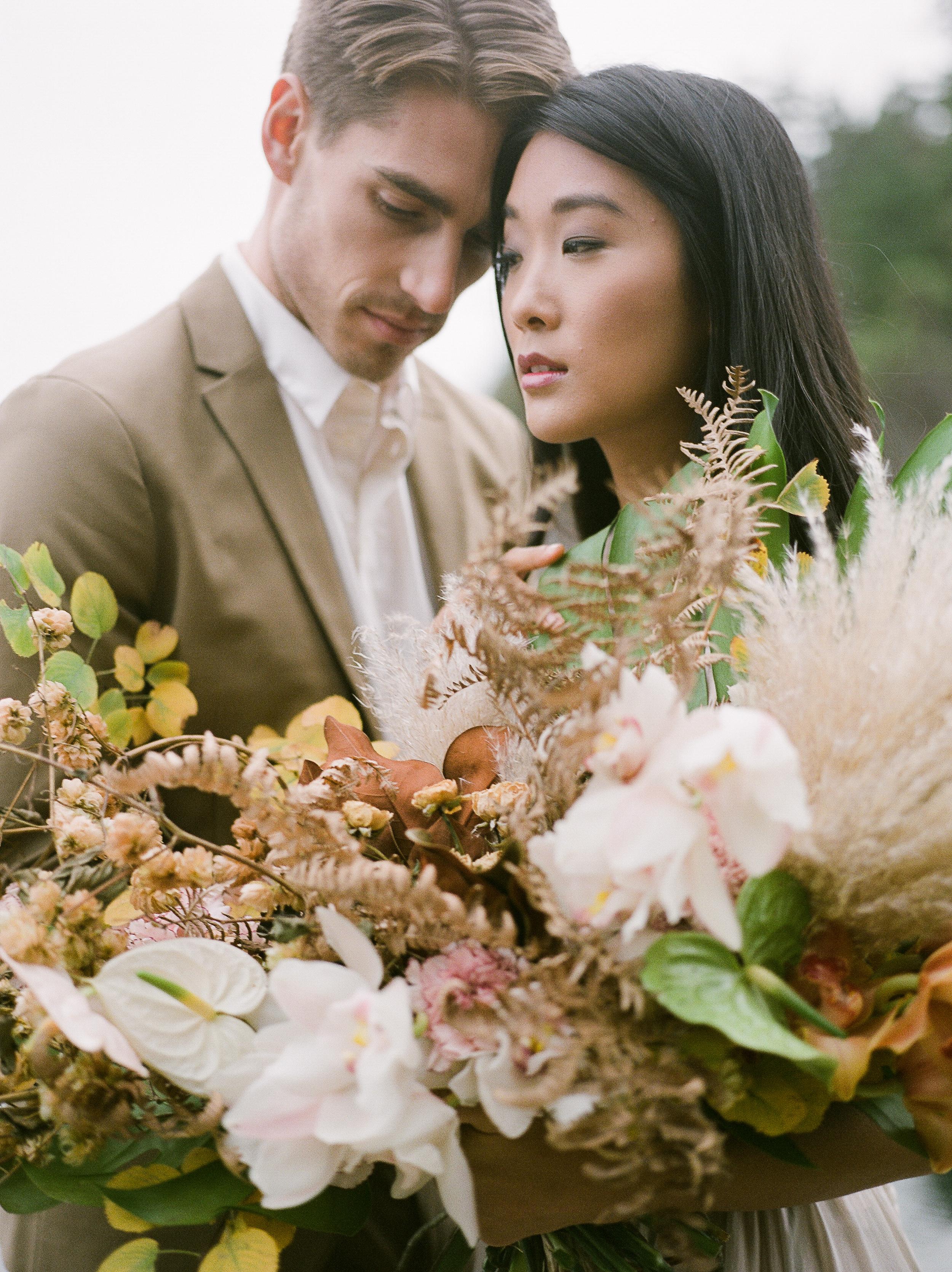 639659e971 Winnipeg Wedding Photographer, Vancouver Wedding Photographer, Ponderosa &  Thyme Bridal Bouquet, Leanne Marshall