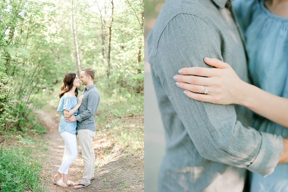 winnipeg wedding photographer, winnipeg wedding venue, best winnipeg wedding vendors, engagement ring up close, engagement ring inspiration, couples photos outfit