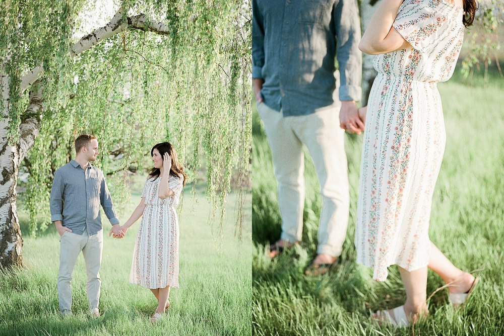 Summertime Engagement Session, University of Manitoba photoshoot, Winnipeg Engagement Photos, Calgary Wedding Photographer