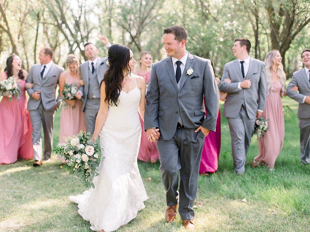 Jenna & Kyle | Backyard Manitoba Wedding