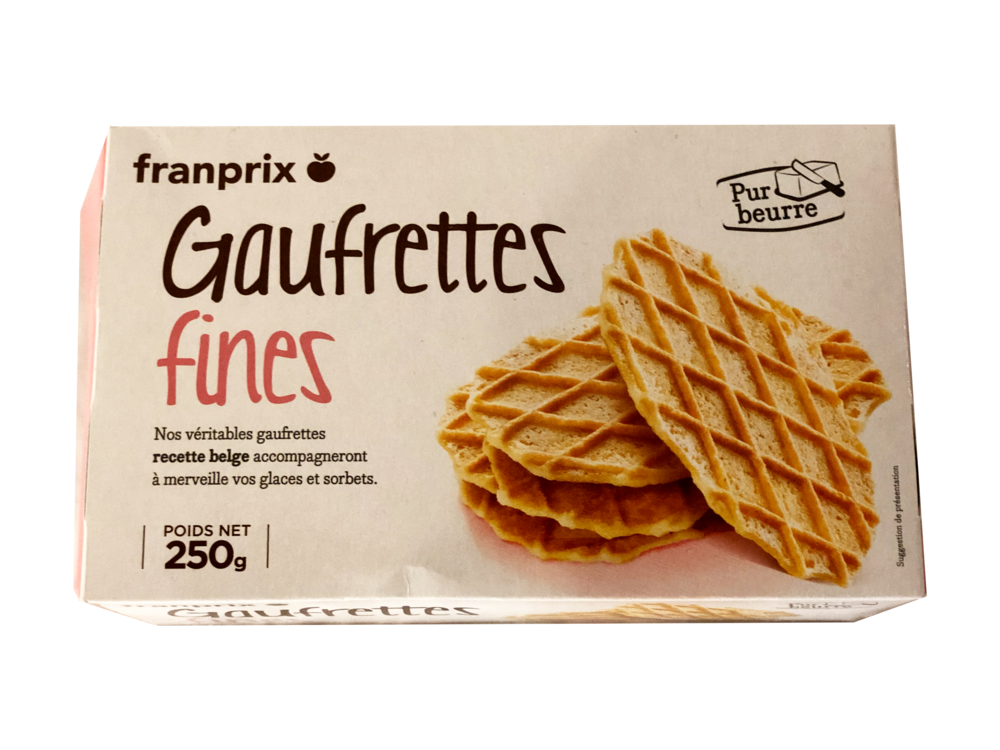 The Clear Winner - We both agreed these were our favorite cookies. They're like a flattened waffle cone from heaven. We bought several boxes.