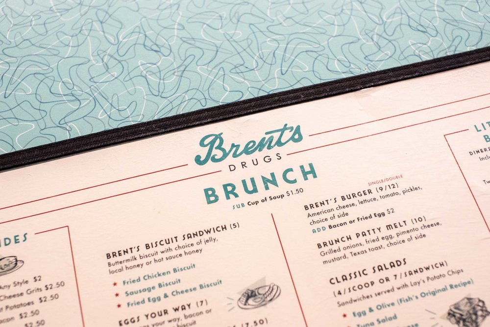 The menu is full of classic diner fare.