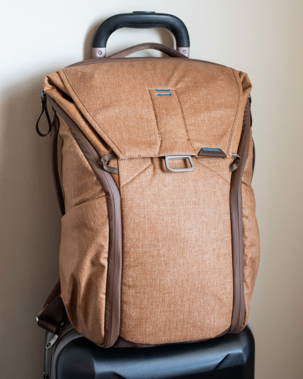 The Peak Designs 20L Everyday Backpack.