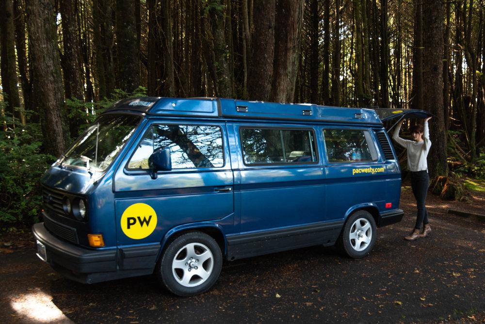 Our van, Ernie.