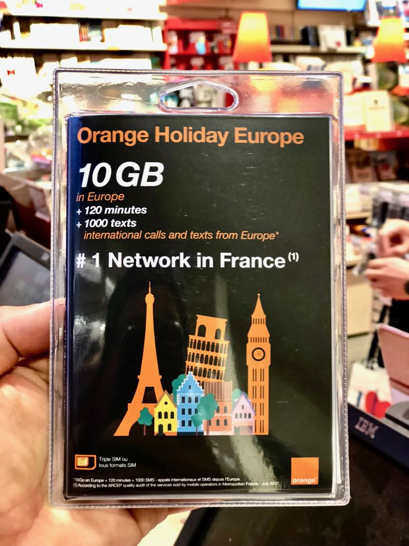 Companies like Orange, offer cheap SIM cards in foreign countries.