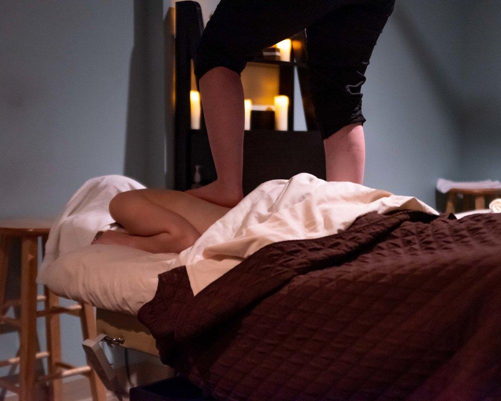 The Ashiatsu massage.