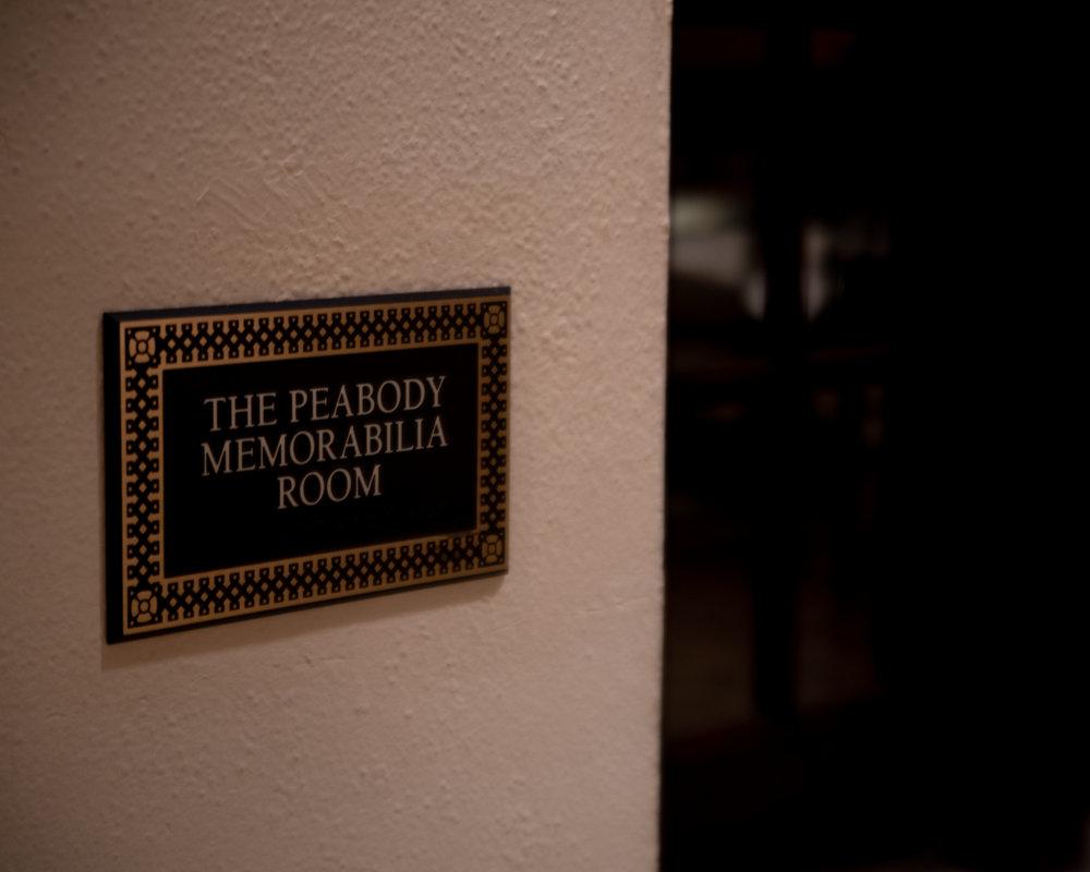 The memorabilia room is full of cool stuff…