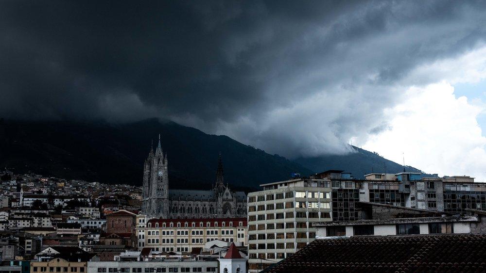Quito again.
