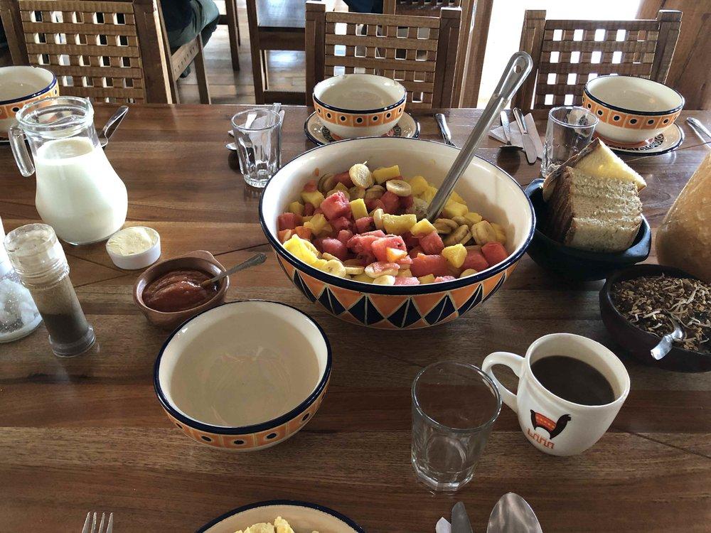 Breakfast was so good at  Llullu Llama .
