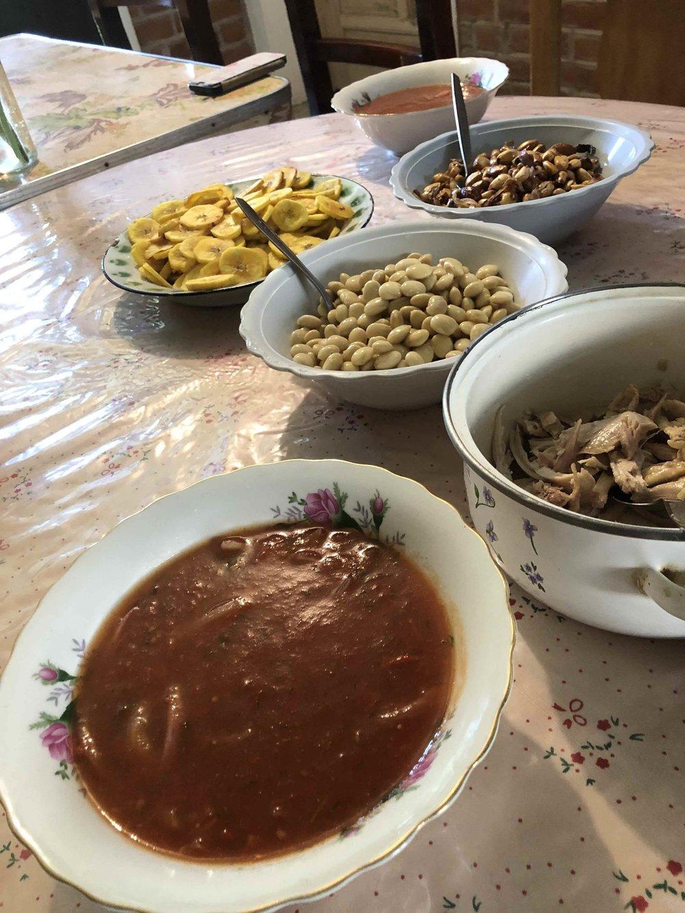 Ecuadorian ceviche