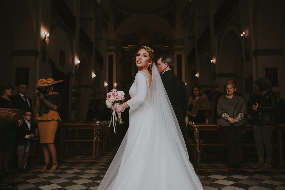 Cristina & Jero - Boda en Ecija - Iglesia Santa Ana - Fotógrafo Andrés Amarillo (24).JPG