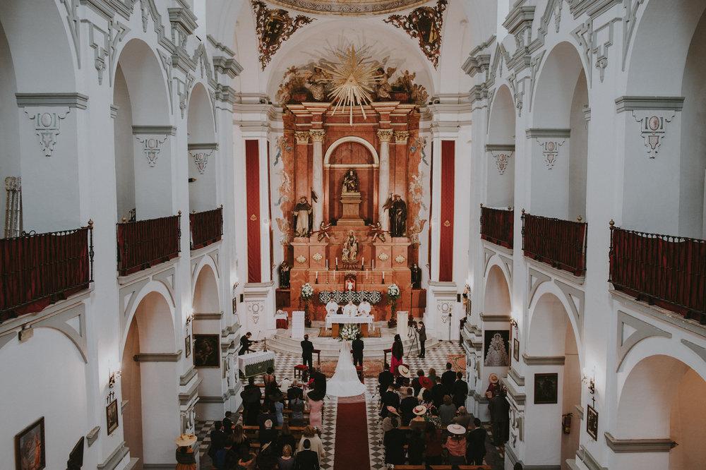 Cristina & Jero - Boda en Ecija - Iglesia Santa Ana - Fotógrafo Andrés Amarillo (30).JPG