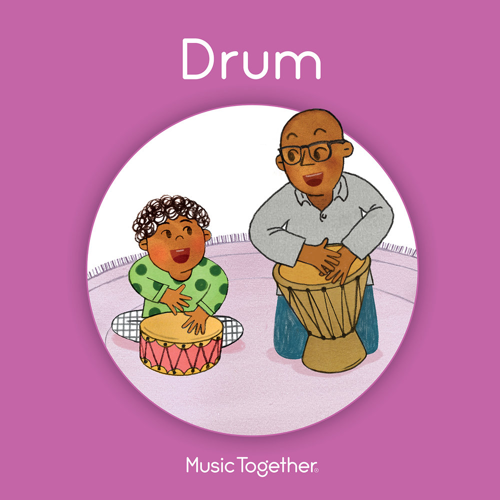 New Songbook this Winter! - The new edition of the Drum family songbook series is debuting this winter! Each song is brought to life through colorful and engaging illustrations by award-winning artist Jaime Kim. The new book will inspire your family to play with music all week long. You'll find it helpful to learn the lyrics, as a jumping-off point for creative storytelling, and to learn more about the songs you're singing in class. Your child may enjoy snuggling with you and singing through the whole book at once—or opening to a page to tell you what song they want to sing!About the IllustratorRead more about Jaime Kim on her website: https://www.jaimekim.com.