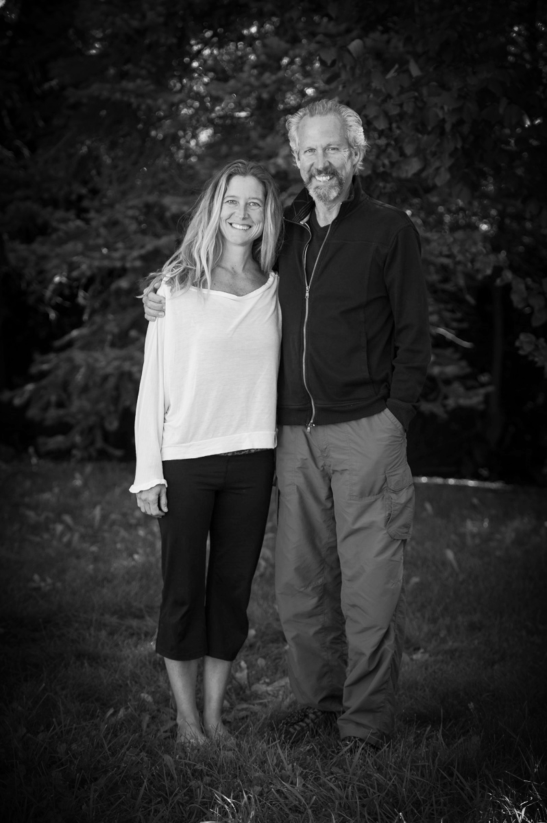 SoL Yoga founder, Karen Buxcel with James Fox- founder of Prison Yoga Project. October 2013 training in Boulder.