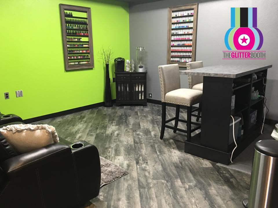 The Glitter Booth - With a few new things to offer, and with Tanya's ambition and desire, Tanya opened up a nail salon in June 2016. Without assistance through a franchise, and working from the foundation up - The Glitter Booth has been nothing but success for Tanya! She hopes to expand The Glitter Booth in the near future!