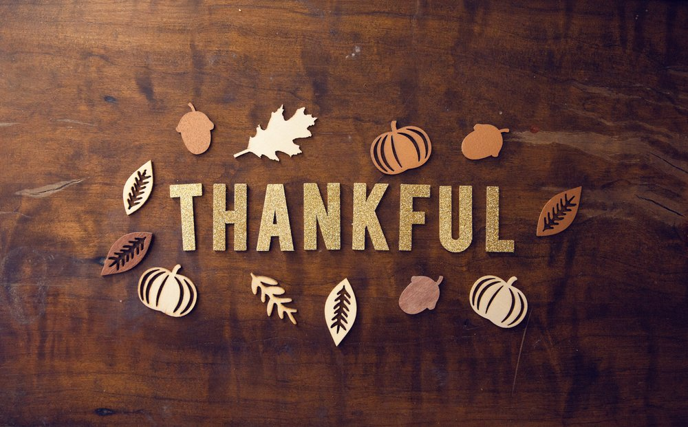 Giving thanks all year long